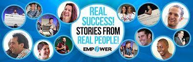 Az Empower Network Top csapata.