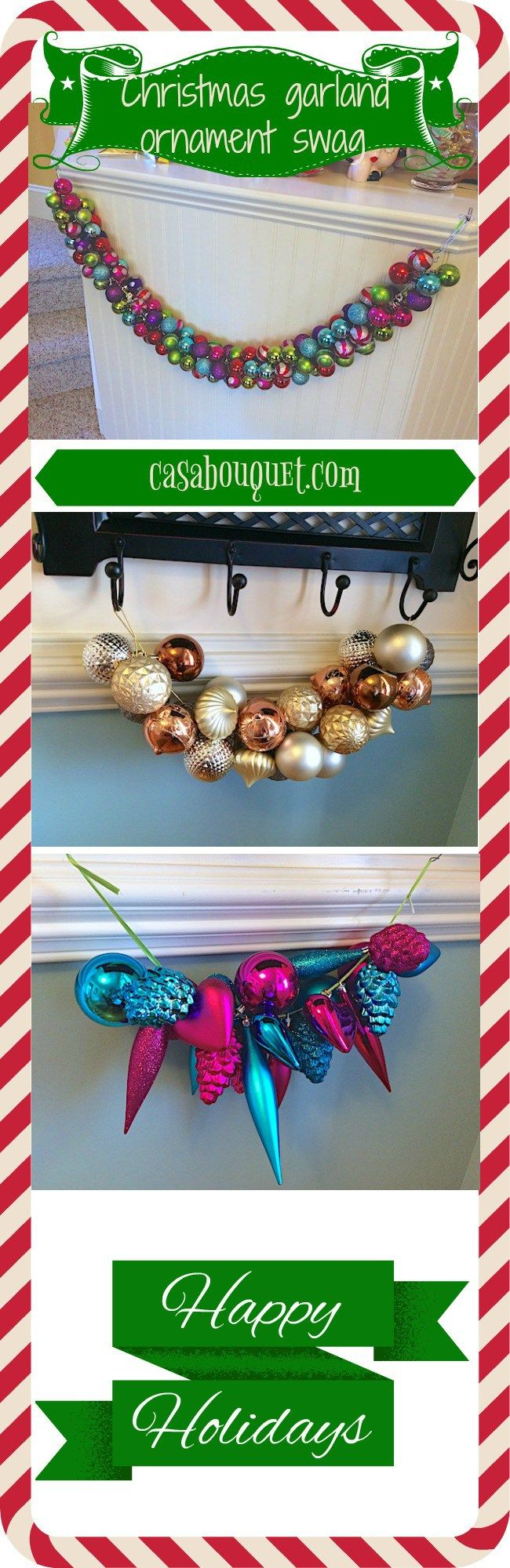 plastic wreaths how to make them