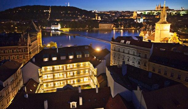 Mamaison Pachtuv Palace Prague- really closest to the Charles Bridge.