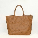 Fendi First Choice for The Season 2290 taupe cowhide concise sheet shoulder bag