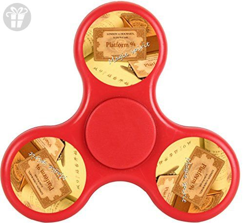 YHQ Harry Platform Ticket Potter 9 3/4 Pocket Fidget Spinner Toy 2017 NEW ARRIVAL Ultra Durable Fast& Long Time Tri-Hands Controlling Stress Reducer EDC Focus For ADD ADHD - Fidget spinner (*Amazon Partner-Link)
