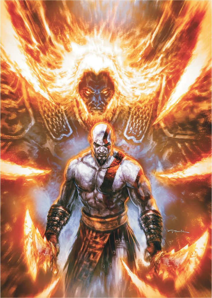 God of War #6 | Artist: Andy Park