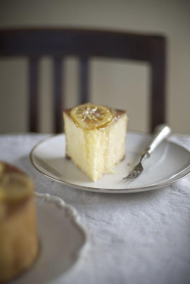 Saftig-saurer Zitronenkuchen