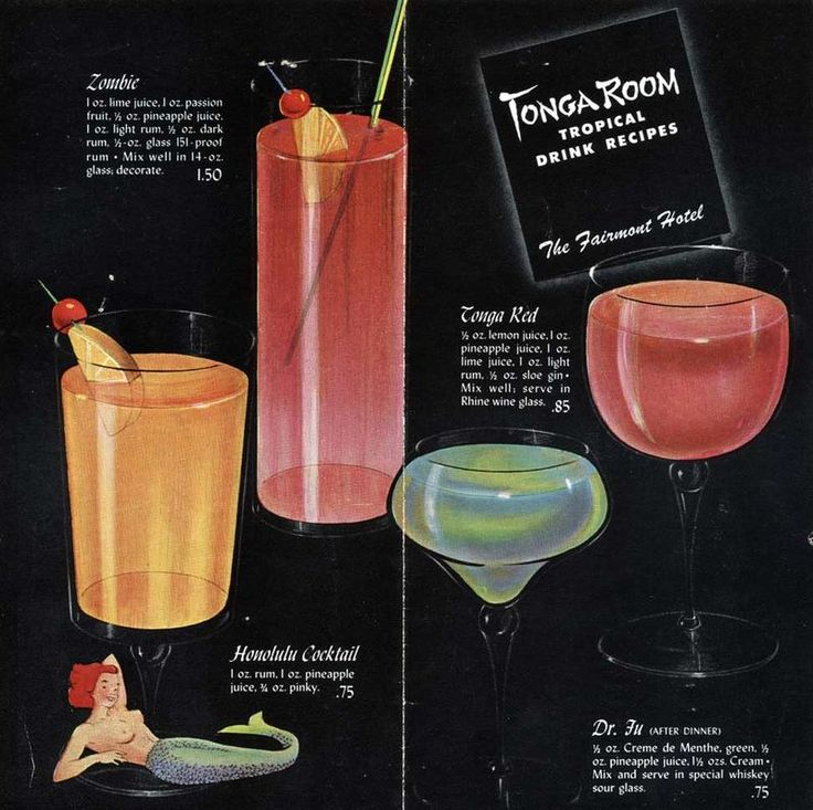17 best images about cocktails vintage style on for Best cocktail party menu