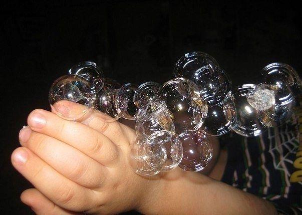 Рецепт «нелопающегося» мыльного пузыря