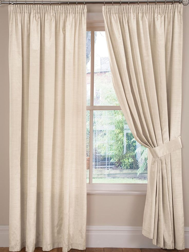 Faux Silk Lined Pencil Pleated CurtainsPlease note: orders placed before 12pm will be delivered on the next working day unless otherwise stated. Orders placed after 12pm may take 2 working days. Amazing value, these faux silk curtains come in a wave of colours that will wake up your windows.Fully lined for a dreamy drape, they have a 7 cm (3 inch) header for hanging on curtain poles or tracks.These curtains are also available with an eyelet (ring-top) header (see item NM321).Complete the…