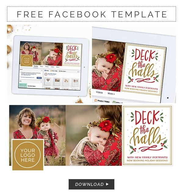 Free Facebook Timeline Cover Template For Photographers Photoshop Christmas Card Template Photo Card Template Photoshop Templates Free
