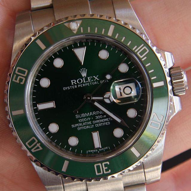 Rolex Submariner Hulk @batemanswatches | http://ift.tt/2cBdL3X shares Rolex Watches collection #Get #men #rolex #watches #fashion