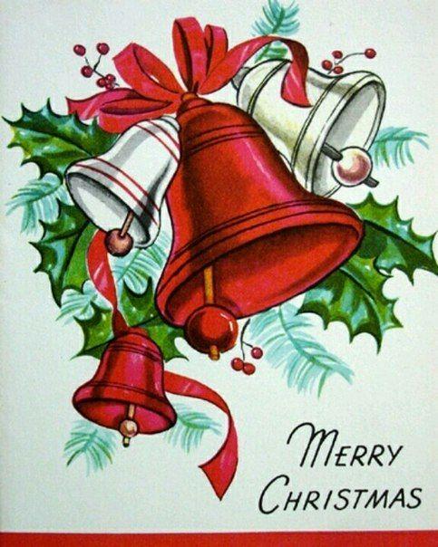 Открытки фото, колокольчики открытки на новый год