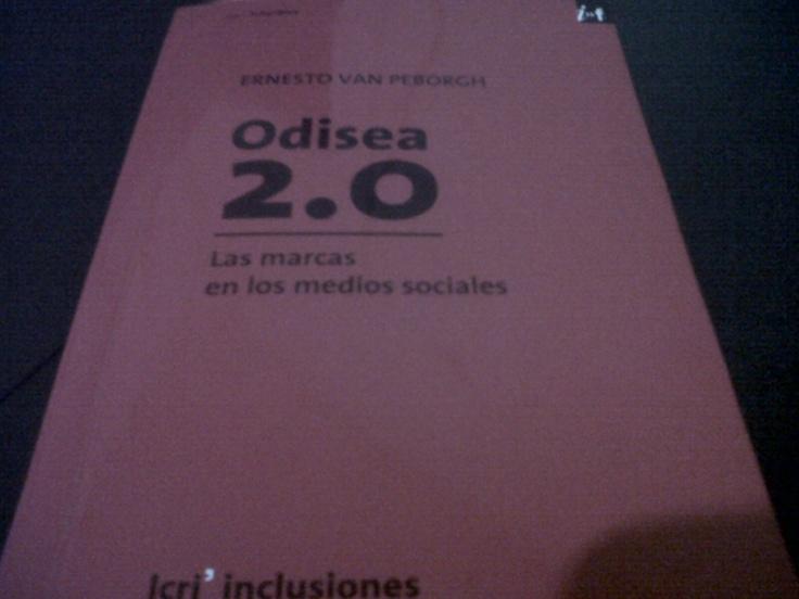 Odisea 2.0 de Van Peborgh, un libro muy práctico que me presto mi amiga @Natalia Mariel Pizzolo