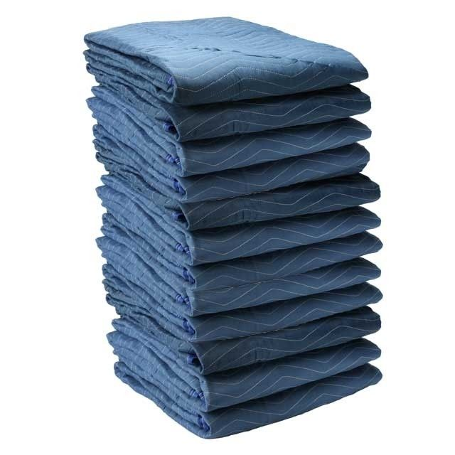 Professional Moving Blankets are available at Ecosmartboxes.com.  Order by the 12 pack, pallet or truckload.  Large selection of moving blankets for DIY movers or professional movers.  Move like the pros! #move #moving #relocation