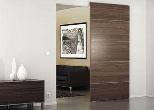Häfele e@sy link Online Katalog -Baubeschläge -Schiebetürbeschläge -für Holztüren -Slido -Design 80-M