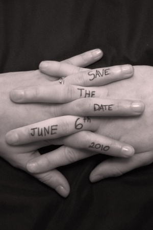 Save the date cards. by stacie