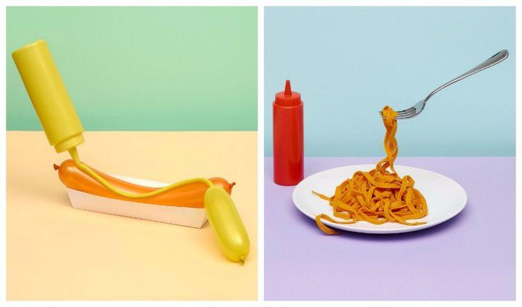 ¿Qué estamos viendo? ¿Interpretación, reinterpretación, un discurso político, comida o algo más? Escultura gastronómica: el Pop Art convertido en comida-CC