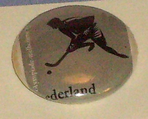 Netherlands 1956 Olympic  1inch Button  by BuyTheLightOfTheMoon, $5.99