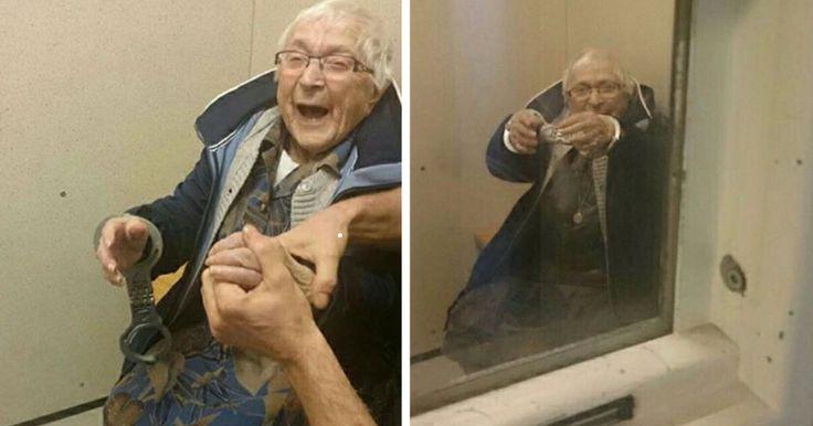 Αστυνομικοί συλλαμβάνουν 99χρονη Γιαγιά και την Βάζουν στη Φυλακή. Μόλις δείτε το Έγκλημα που διέπραξε, θα Μείνετε άφωνοι! Crazynews.gr