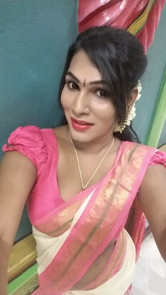 Transgender indian women speaking