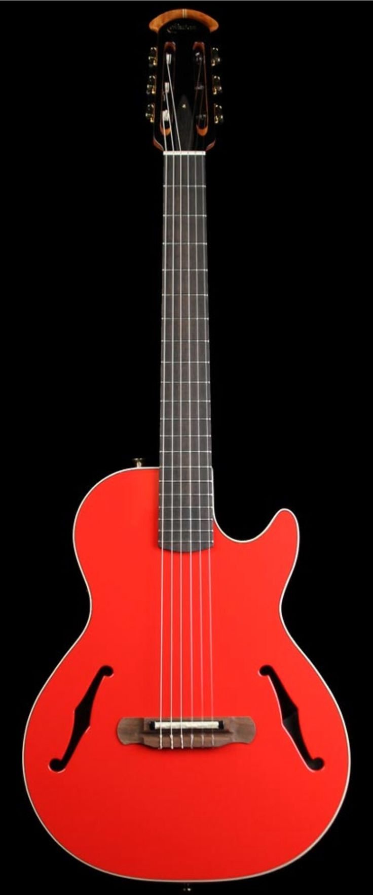 OVATION Yngwie Malmsteen YM63 Nylon Acoustic/Electric Rossa Corsa Red