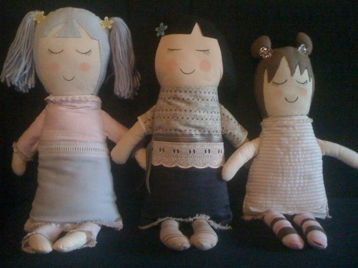 Jimolly Dolly's. Hand made rag dolls. turtle_d@tpg.com.au