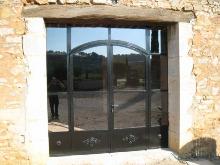 17 best ideas about porte fer forg on pinterest portillon fer forg portes en fer forg and for Porte d entree fer forge algerie