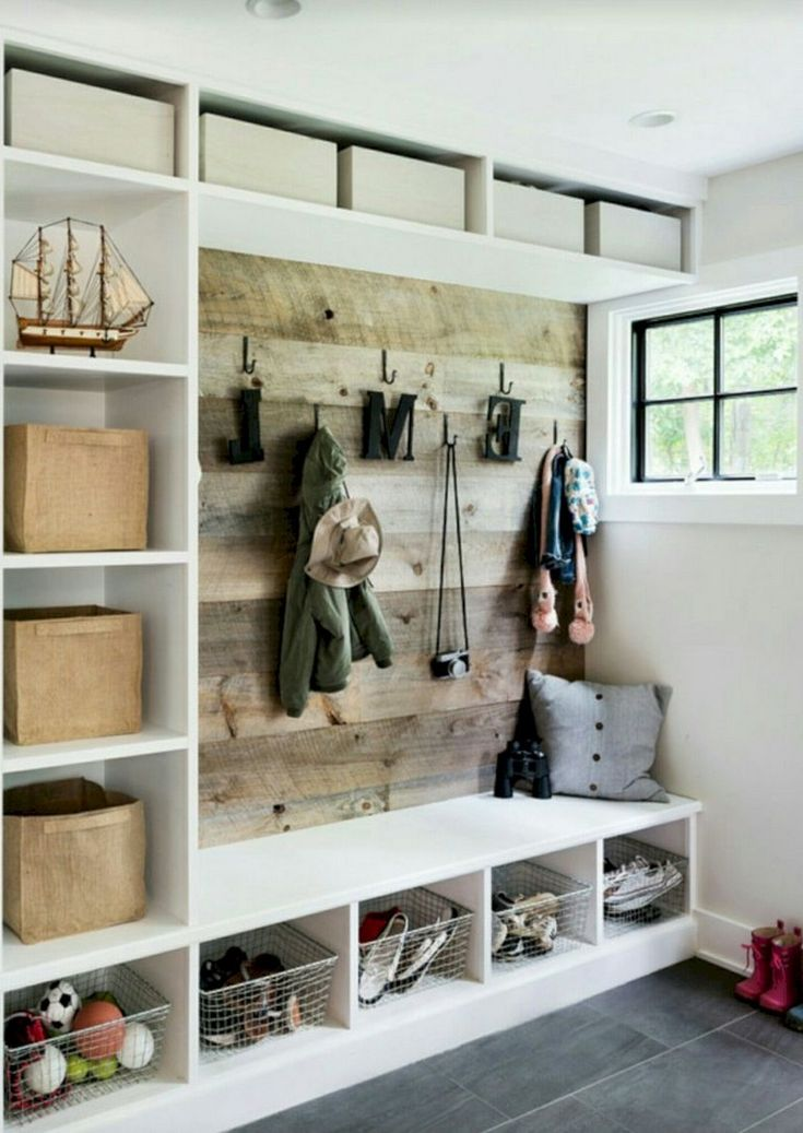 30+ Smart DIY Laundry Room Makeover With Farmhouse Style