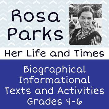 a biography of the life and times of rosa parks Work for historynet  whose book the rebellious life of mrs rosa parks  parks and her family were at times nearly destitute.