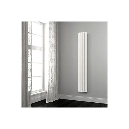 opague vertical radiator white h 1800 mm w 345 mm. Black Bedroom Furniture Sets. Home Design Ideas