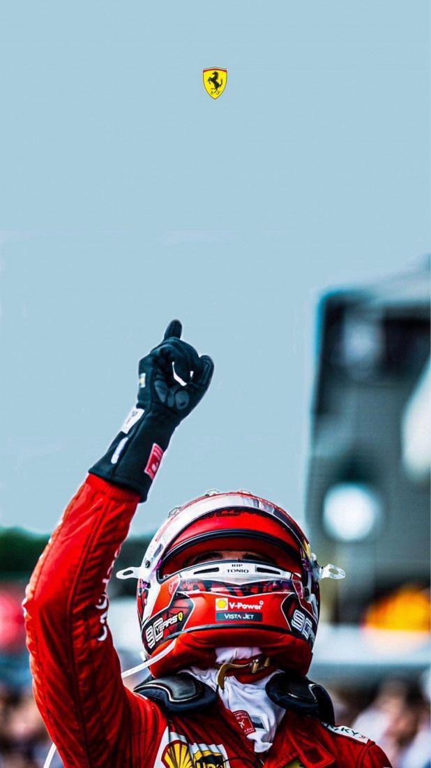 Charles Leclerc Ferrari Formula1 Formula 1 Vettel In 2020 Belgian Grand Prix Formula 1 Formula 1 Car