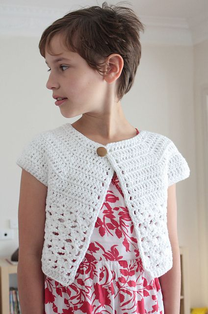 free Ravelry: Bebop or Urban Girl Cardi pattern by Lion Brand Yarn