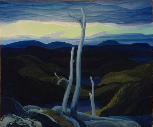 Carmichaël, Franklin - Rive nord, lac Supérieur - Musée des Beaux-Arts, Montréal