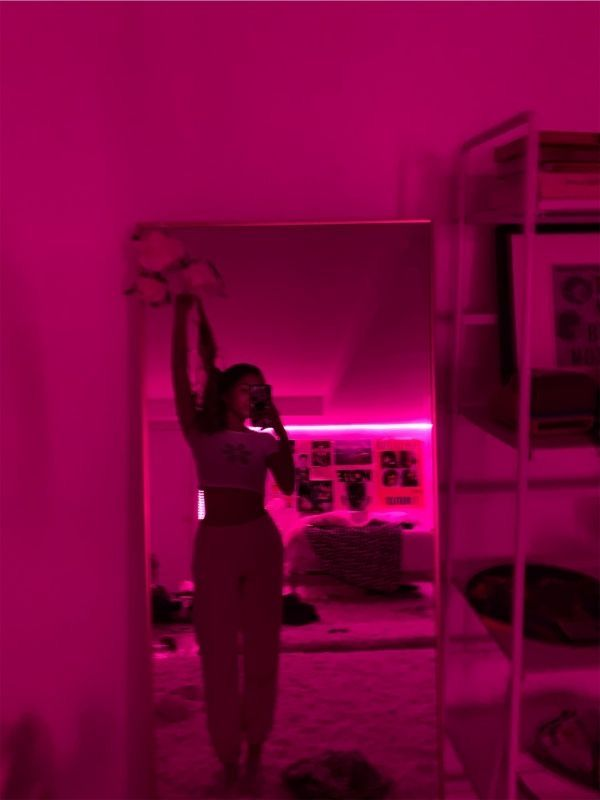 Led Strip Lights With Remote Cosmic Drip In 2020 Neon Room Chill Room Aesthetic Bedroom
