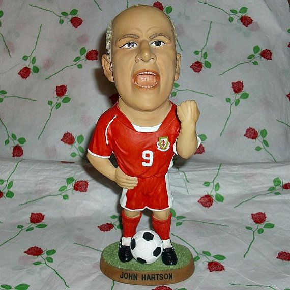 John Hartson Welsh Football Player Sport by WelshGoatVintage