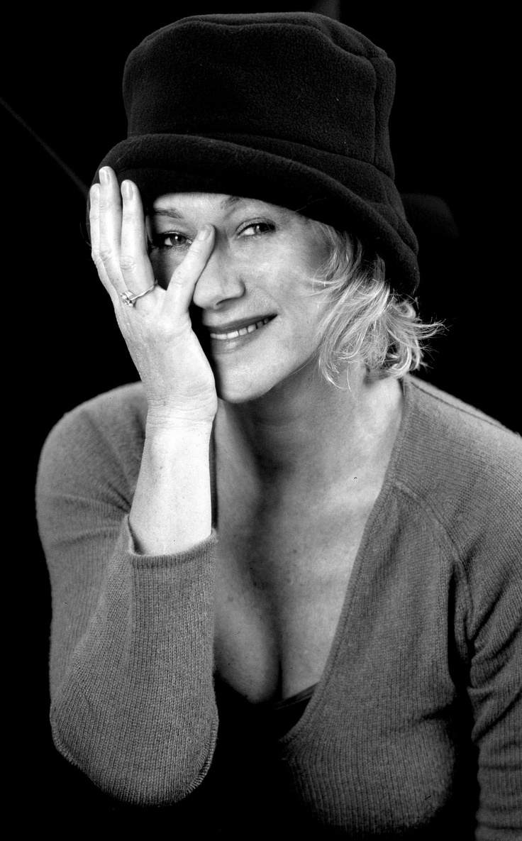 I was never that kind of star. I was never cast because I was gorgeous. Helen Mirren. (But,Helen..you ARE gorgeous)