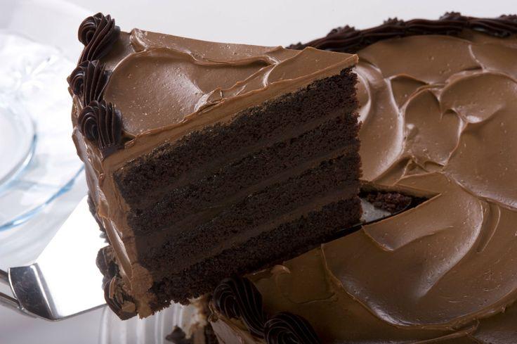 Fácil receta de pastel de chocolate