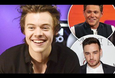 Liam Payne and Niall Horan congratulate Harry Styles on solo debut