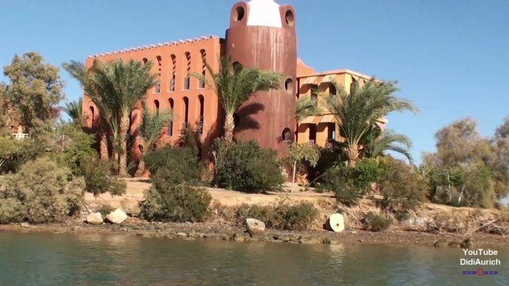 Ägypten Hotel Sheraton Miramar Resort von der Wasserseite El Gouna مصر ش...