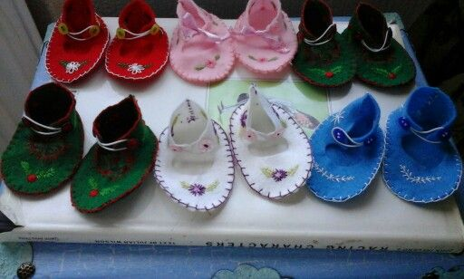 Selection of Booties