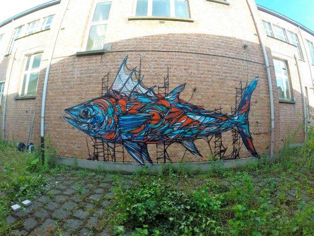 Murals of Animals in Antwerp_2