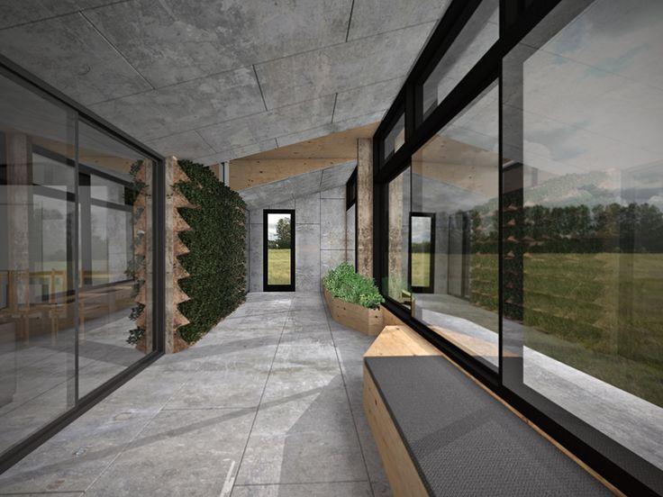 ArchiBlox Carbon Positive House | Render by Ben Ryan  #archiblox #prefab #carbonpositivehouse #cph #architecture #australianarchitecture