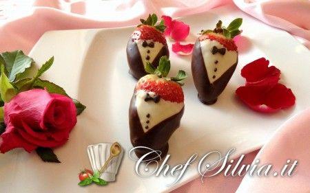 Fragole in smoking - Tuxedo Strawberries