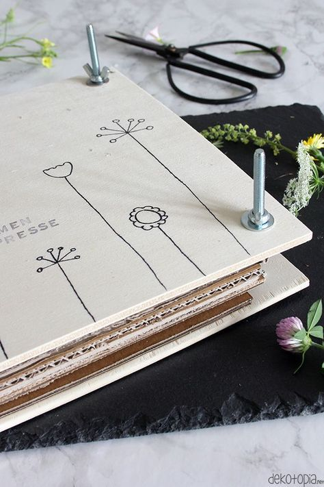 Blumenpresse selber bauen