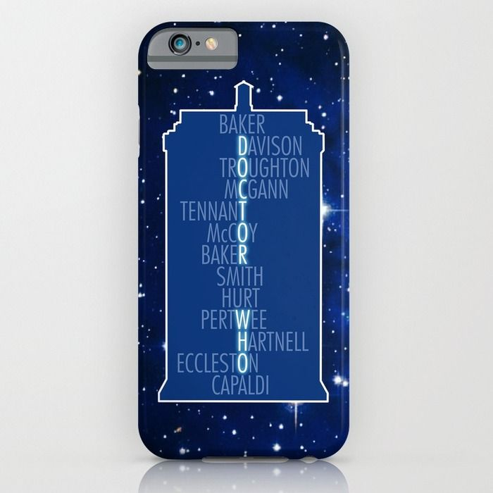 Doctor Who - Thirteen Doctors iPhone & iPod Case