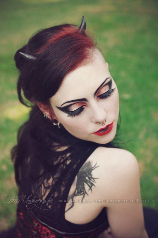 Devil's Princess by Estelle-Photographie      Model: Vipers Doll