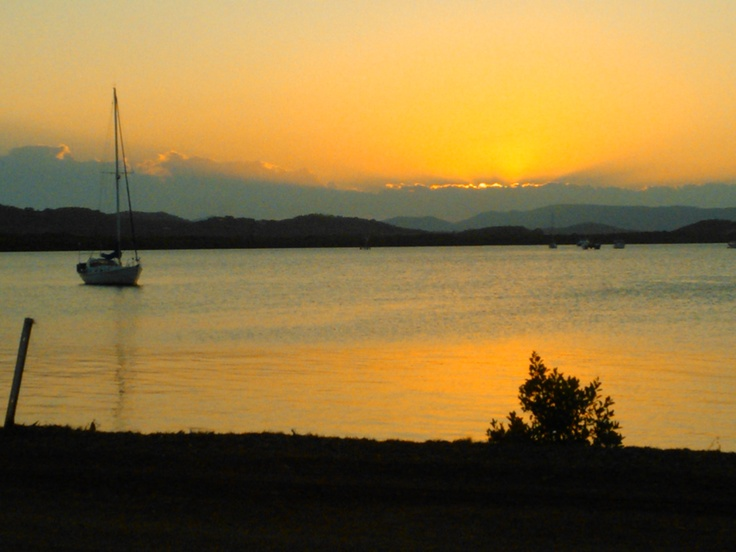Cooktown Sunset on 11 Oct 2012