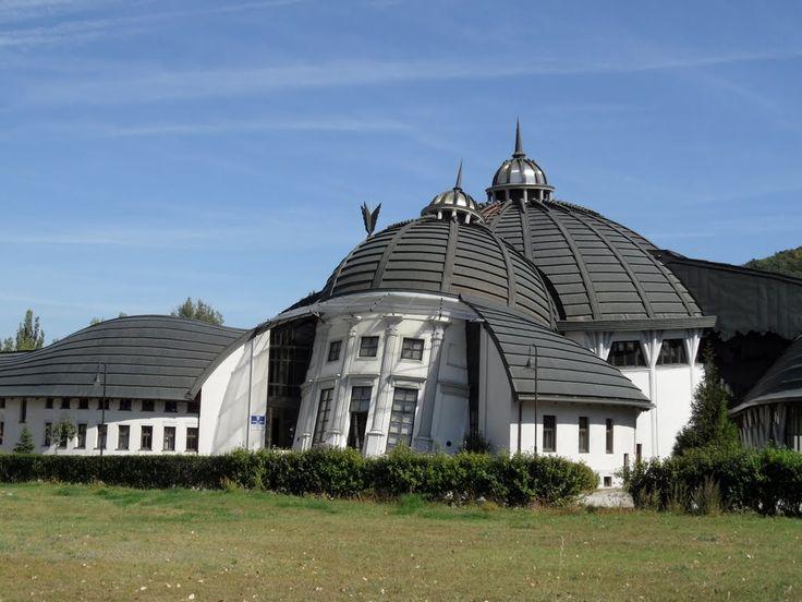 Photo of Pázmány Péter Catholic University  Piliscsaba (Hungary)The new buildings of the Campus were designed by a world-wide recognized architect Imre Makovecz.