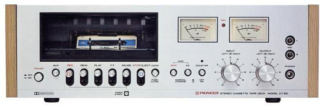 PIONEER CT-5D (1975)