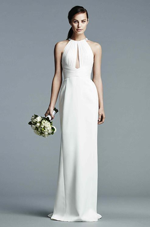 25 best Simple Wedding Gowns images on Pinterest | Short wedding ...
