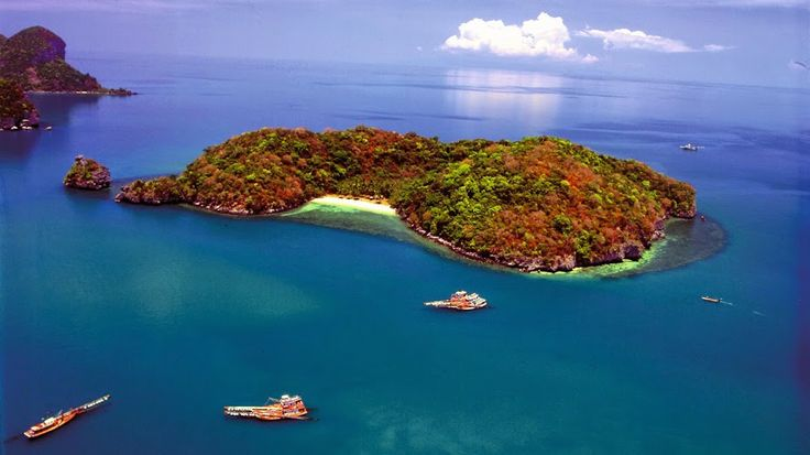 Mu Ko Ang Thong National Marine Park #Thailand mit #Kombireise Thailand, #Inselhüpfen, #Samui #Urlaub...bei #JUREBU, dem #Kombireise-Spezialisten, günstig kombinieren. http://www.kombiurlaub.eu/thailand