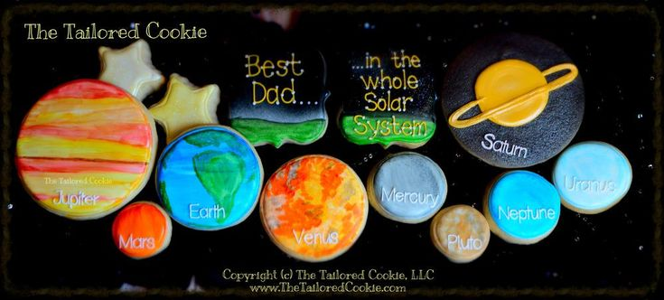 Best Dad in the whole solar system!!! | Cookie Connection