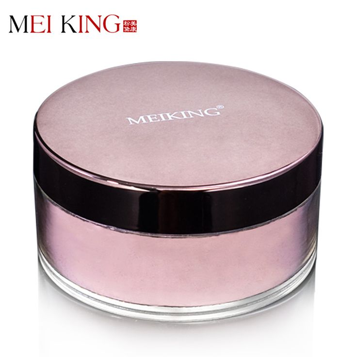 MEIKING Loose Powder Peach Blossom Plants Nourishing Skin Makeup Powder 8-Hour Continuous Fix Enhance The Contour Lines
